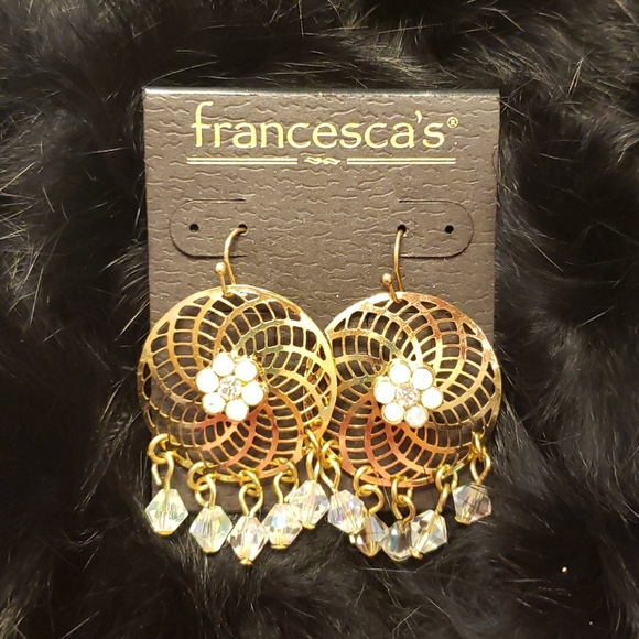 Francesca's Collections Jewelry - Gold Earrings